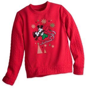 NWT, Disney, Holiday Sweatshirt, 2X